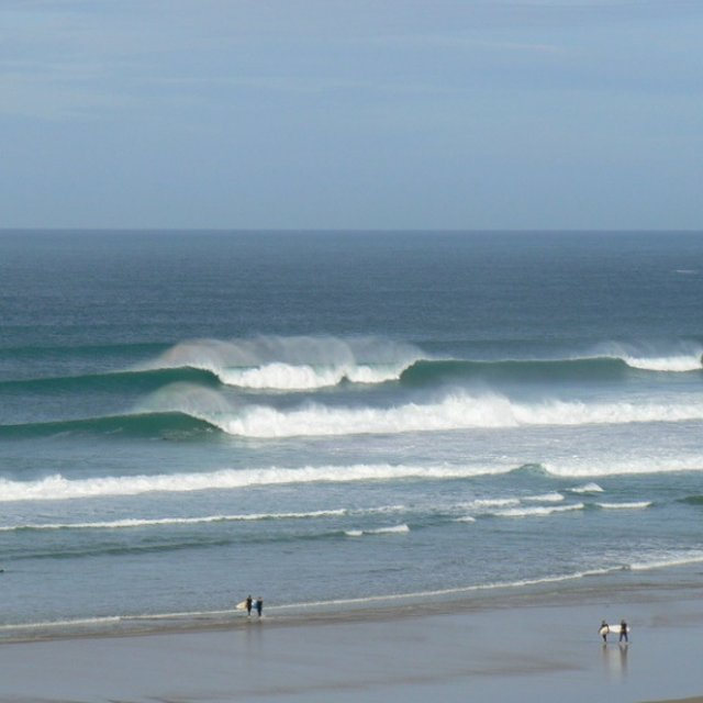 Surfing Perranporth