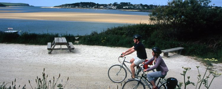 Bike trails in Cornwall