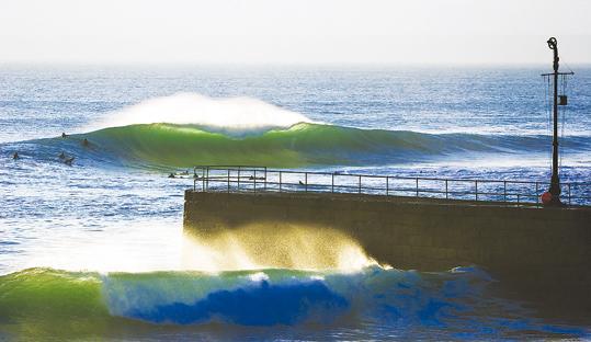Surfing Porthleven Cornwall