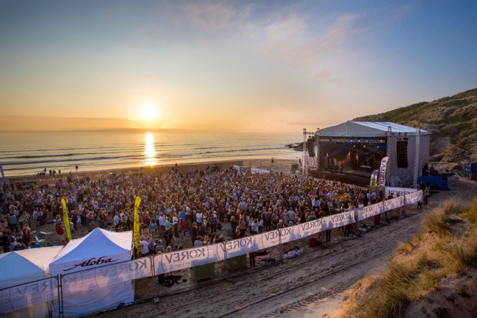 music events holidays in Cornwall